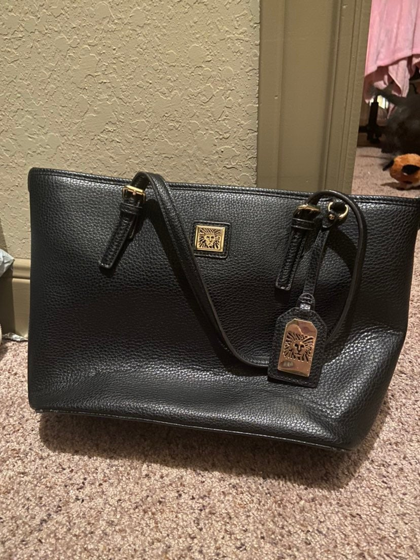 Anne Klein Black Purse
