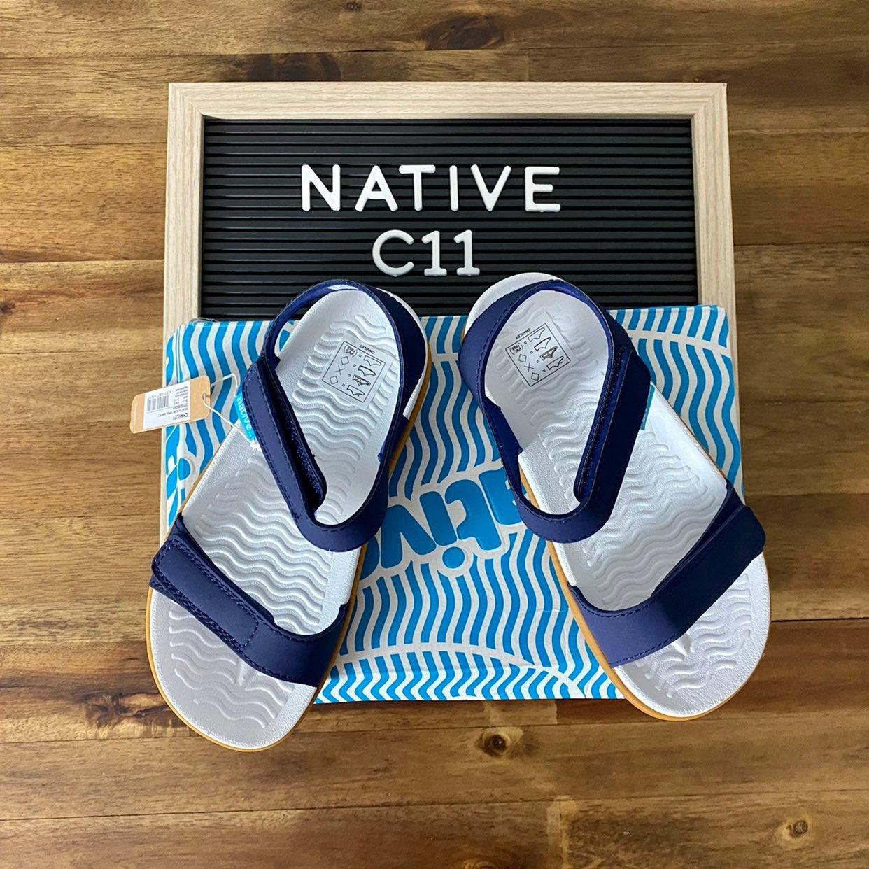 NIB Native Charley Navy Sandal C11