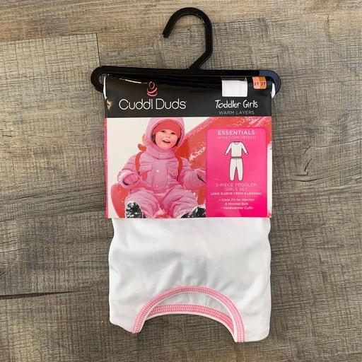 Cuddl Duds 2T 3T Warm Layers Set Toddler
