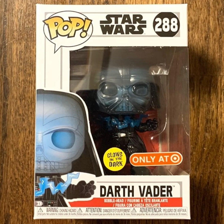 Star Wars Darth Vader GITD Target Funko