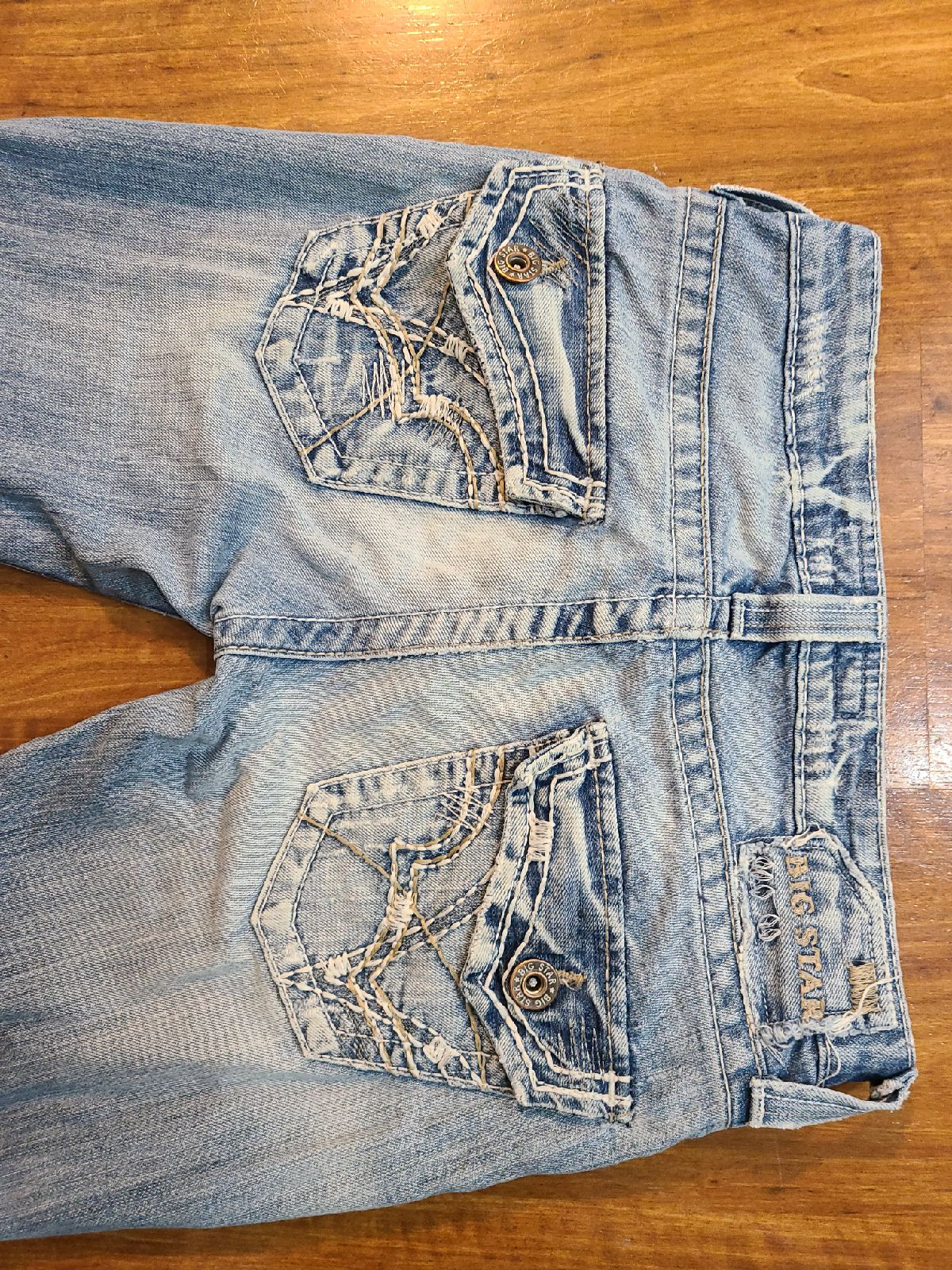 Big Star Low-Rise Womens Jeans Size 26R