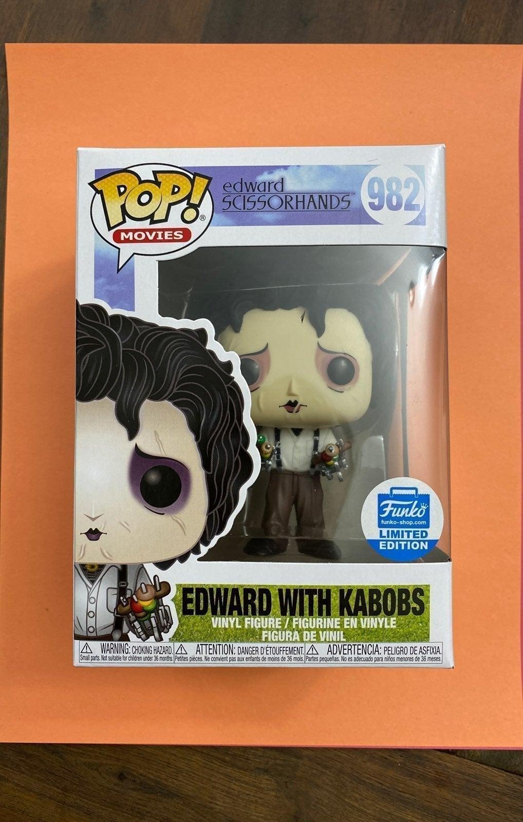 Funko Pop Edward With Kabobs 982