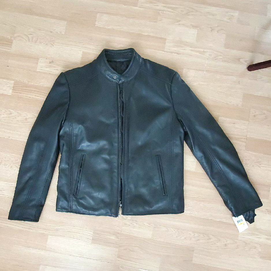 Leather Jacket Marc new York