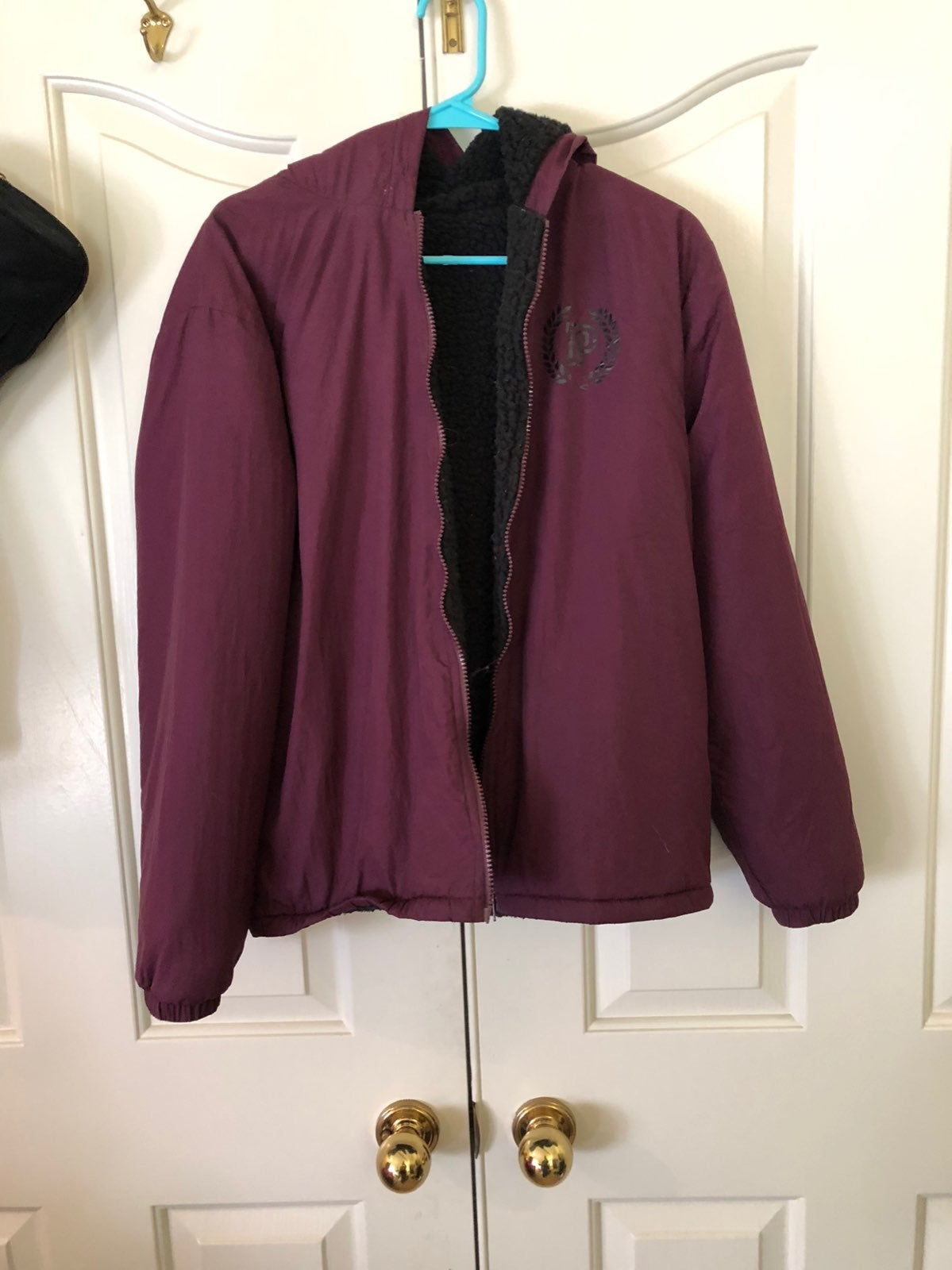 PINK Sherpa Lined Jacket