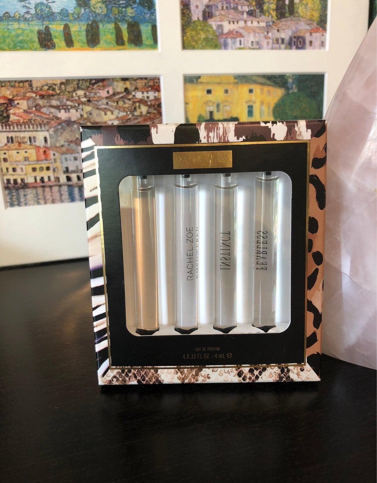 Rachel Zoe perfume sample set