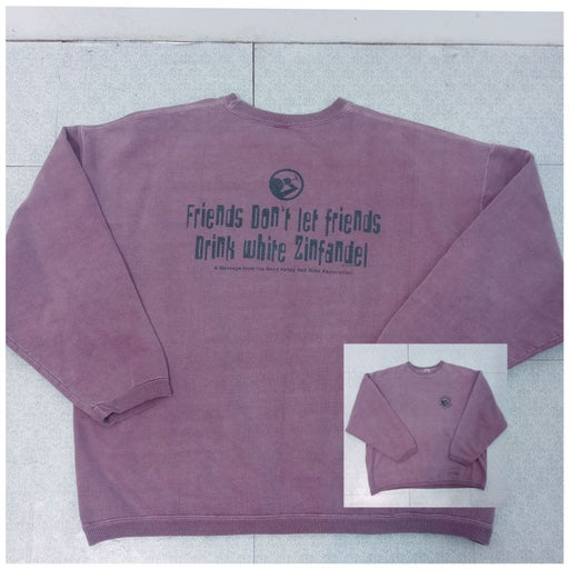 Wine Dyed Unisex Sweatshirt