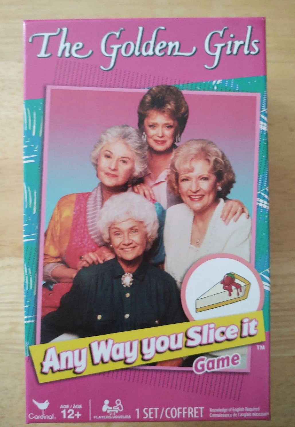 Golden Girls Any Way You Slice It Game