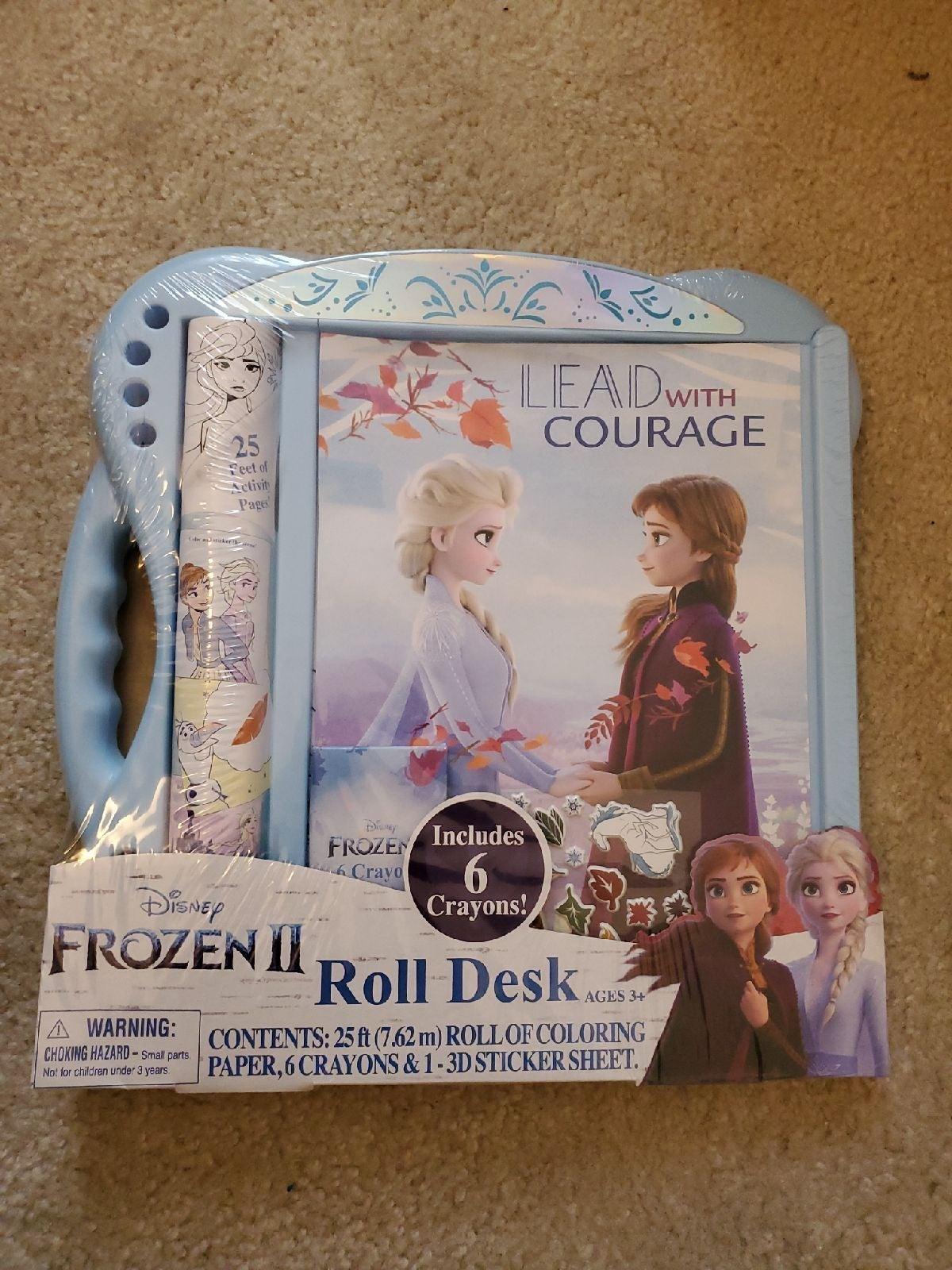 Disney Frozen II Bundle Roll Desk Ink