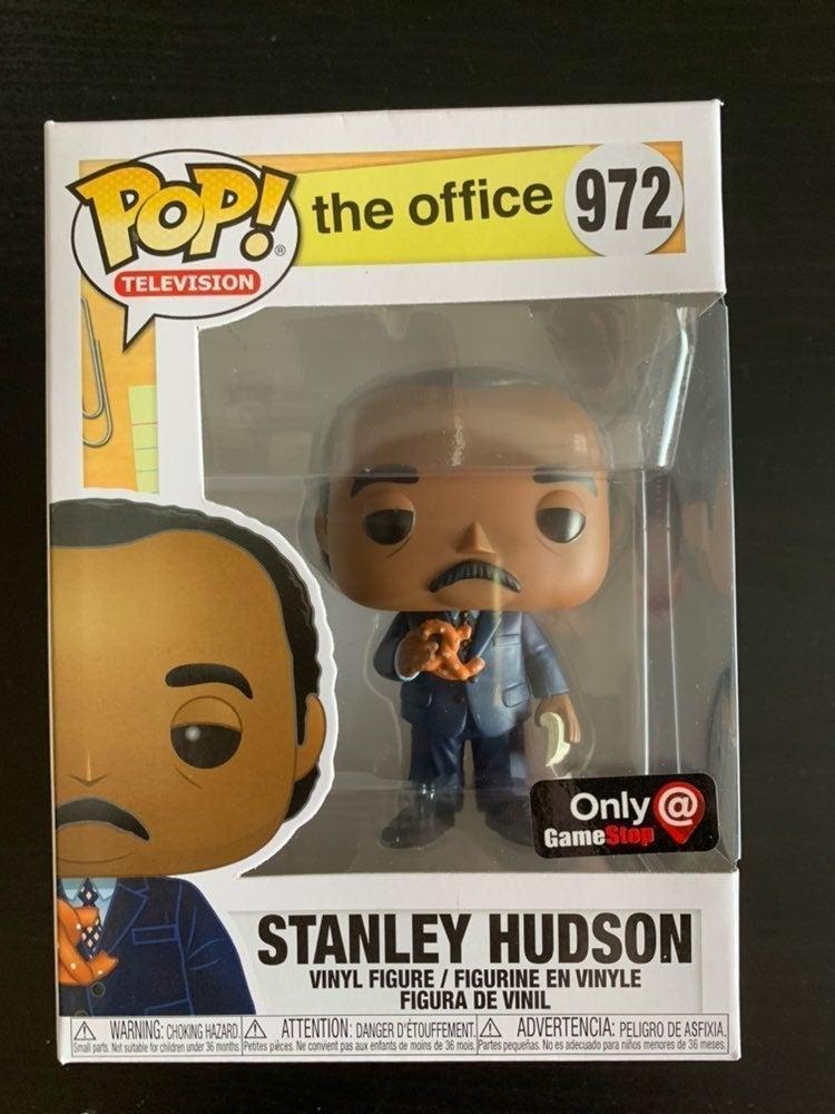 Stanley Hudson Gamestop Pop The Office