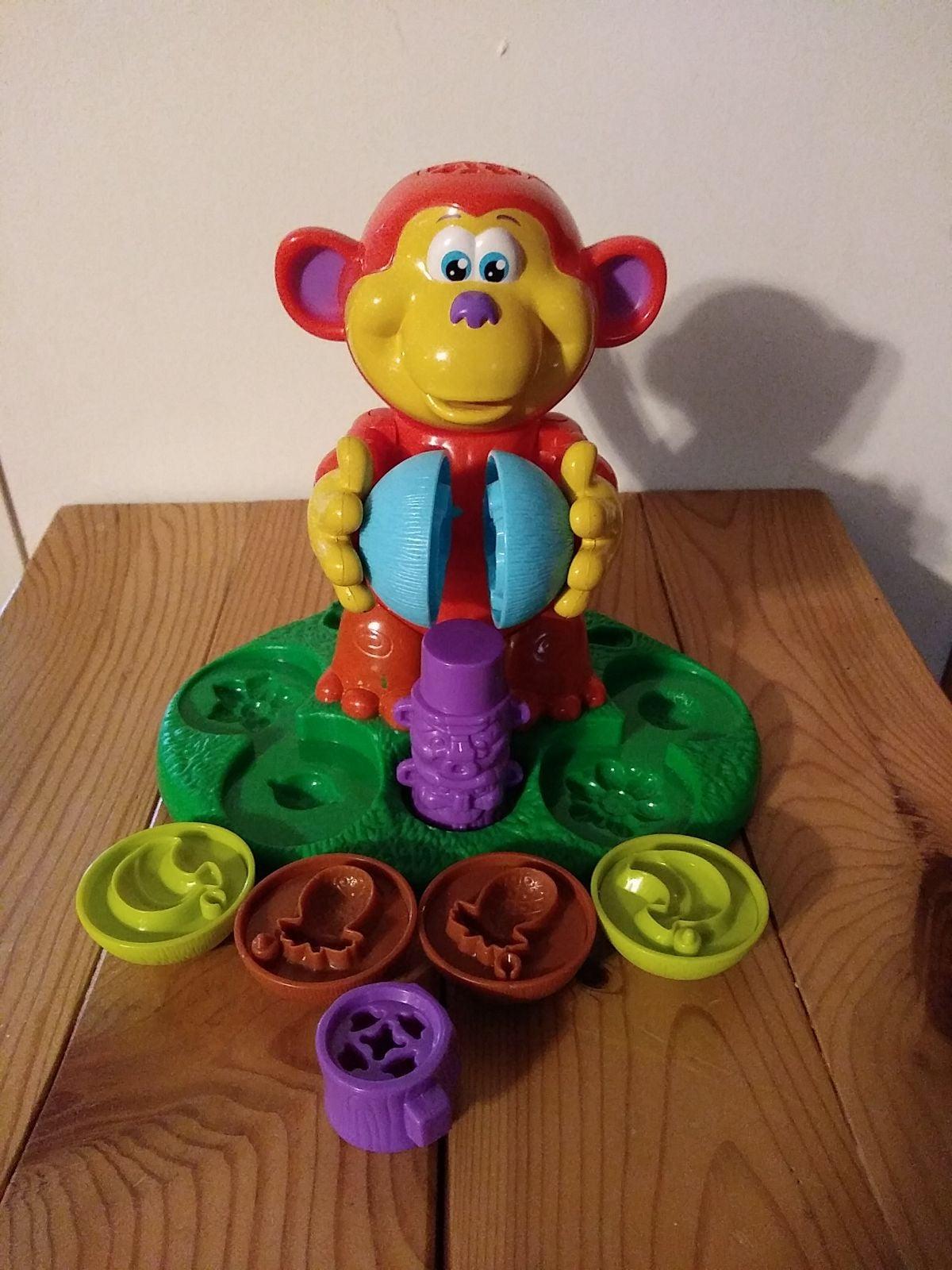 HASBRO Play-Doh Coco Nutty Monkey Playse