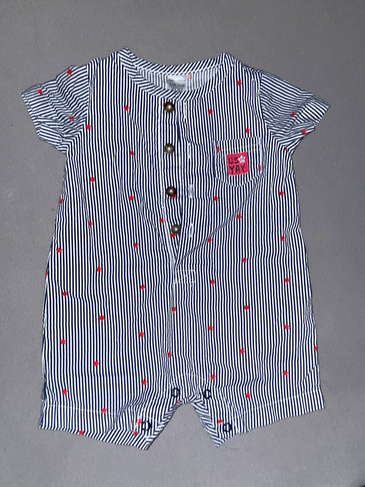 Baby Boy 4th of July Carters Romper