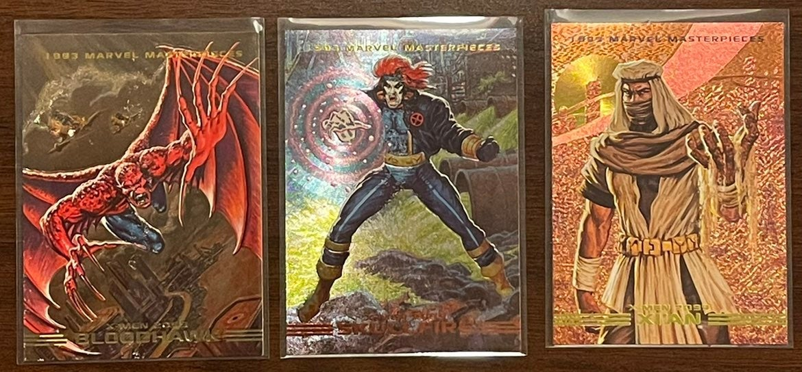 1993 Marvel Masterpieces Holo Inserts
