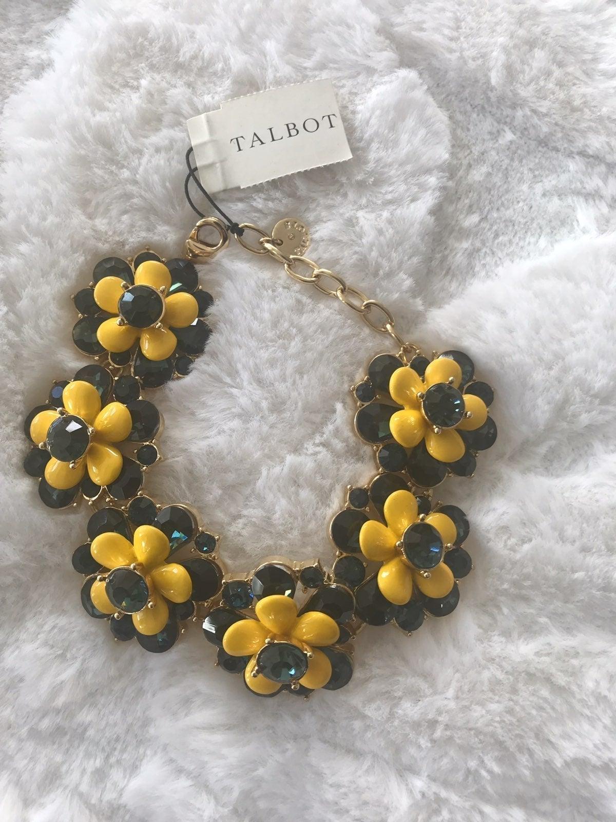 Talbots Sunflower Bracelet