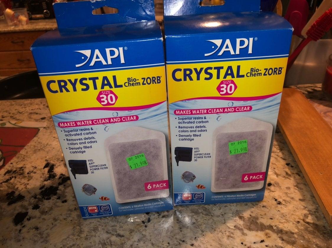 API crystal bio-chem zorb size 30