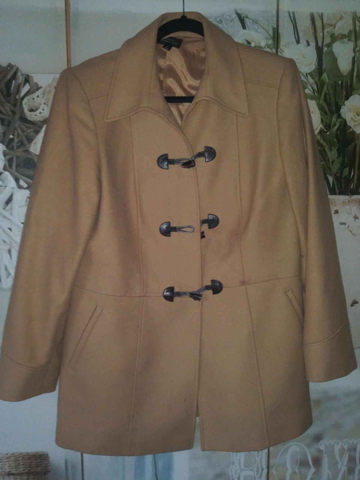Tahari Wool Coat Sz. 10