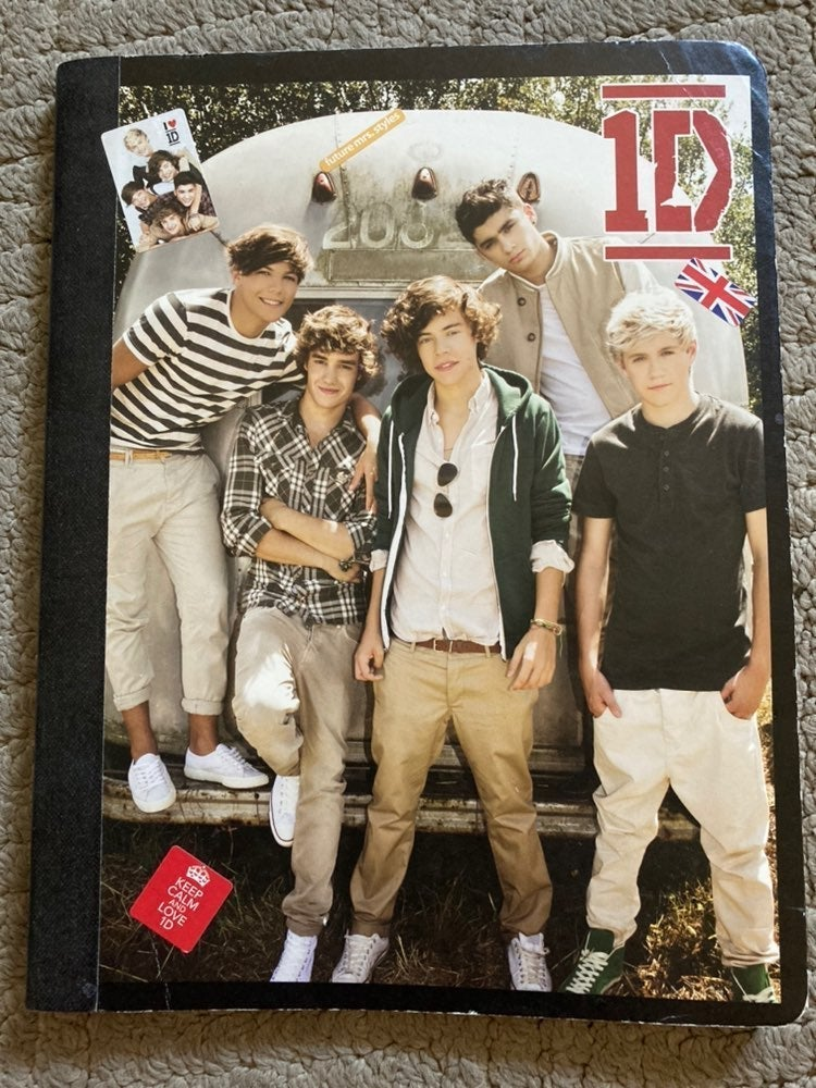 One Direction Notebook