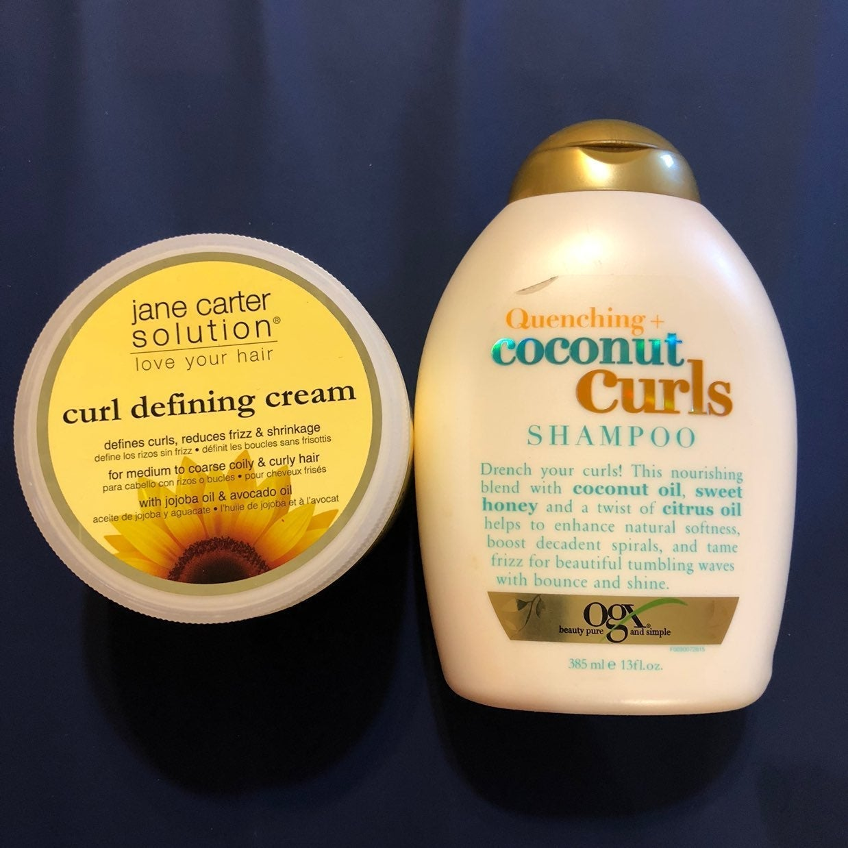 Curly Hair Shampoo & Curl Defining Cream