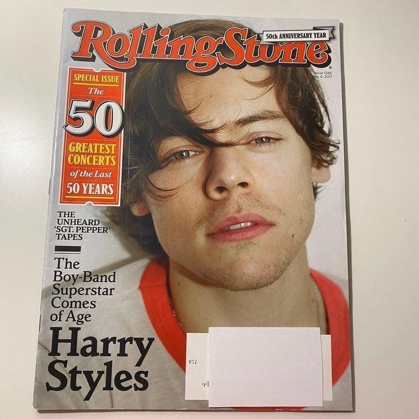 harry styles 2017rolling stone magazine