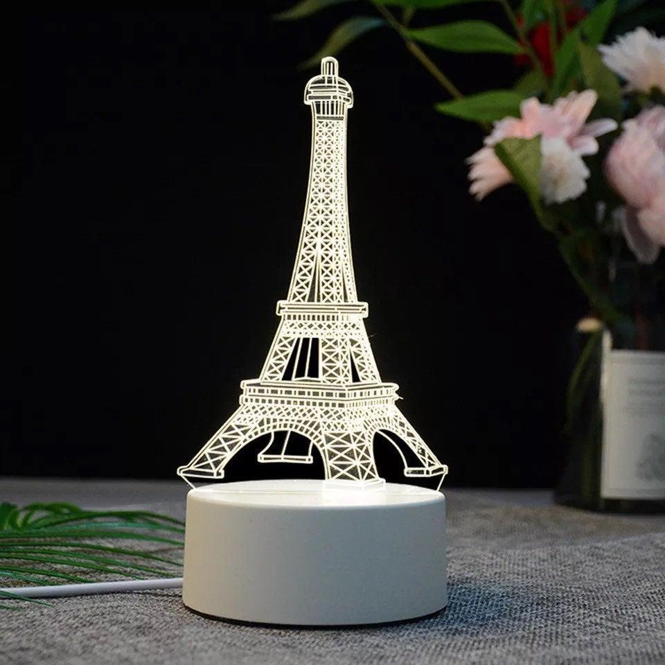 Eiffel Tower 3D CREATIVE VISUALIZATION L