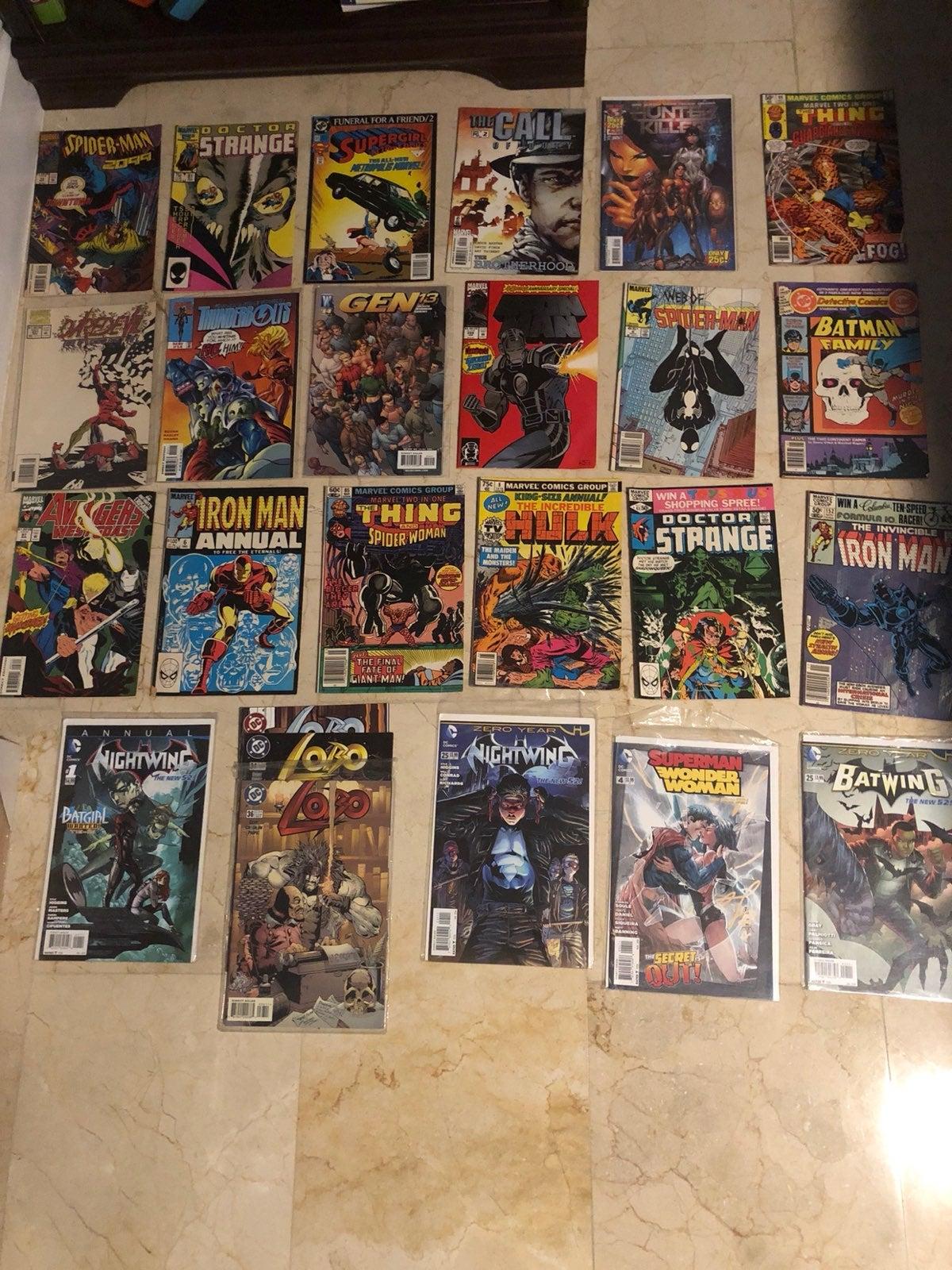 Lot of Comic Books
