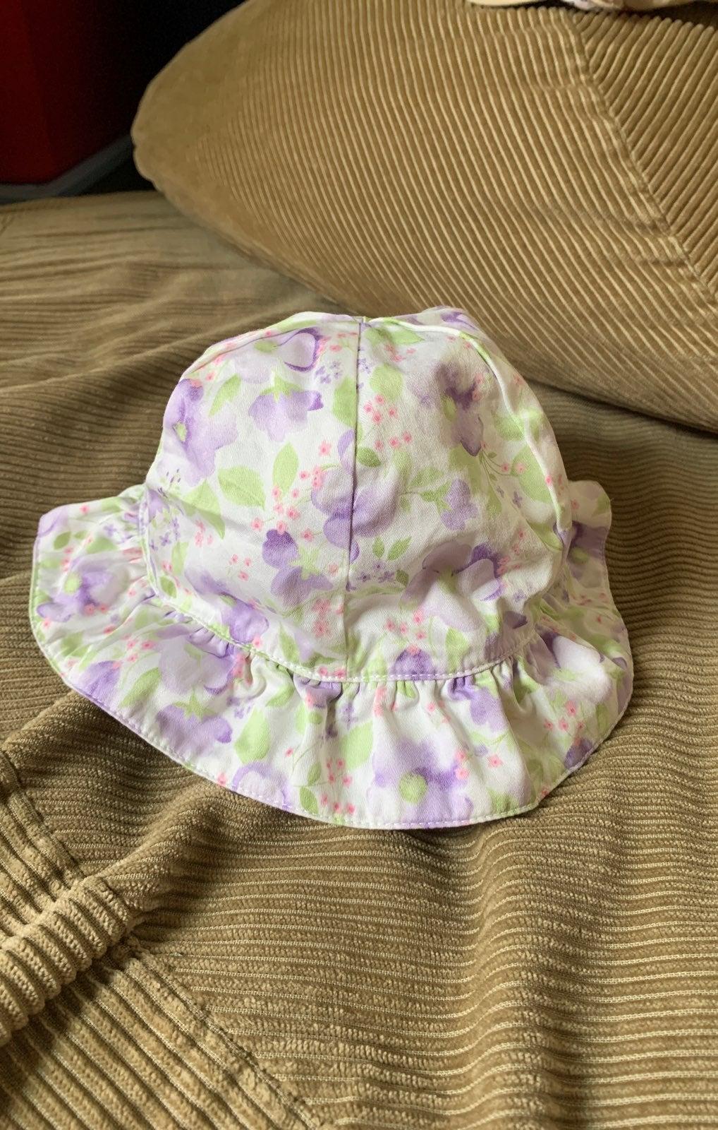 Baby girl Gymboree sun hat