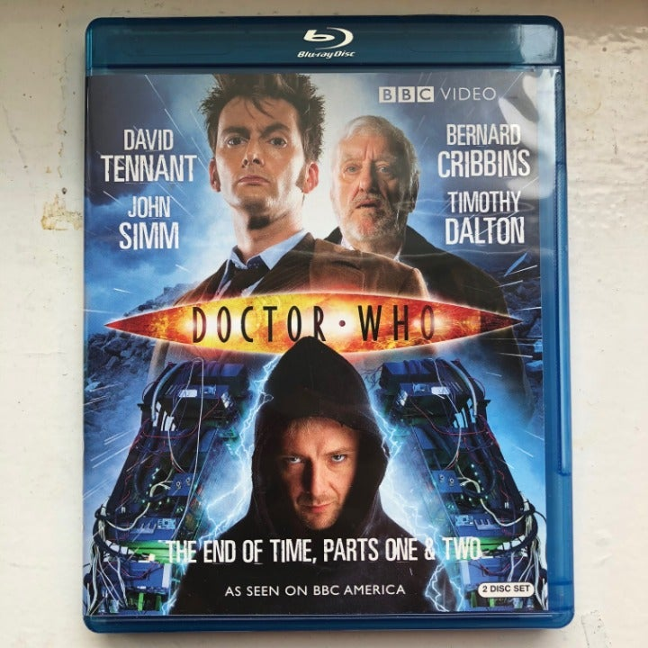 Dr Who End of Time pt 1 & 2 DVD Blue Ray