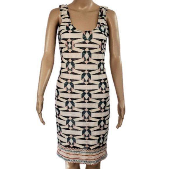 Bar III Bodycon Midi Sleeveless Dress Si
