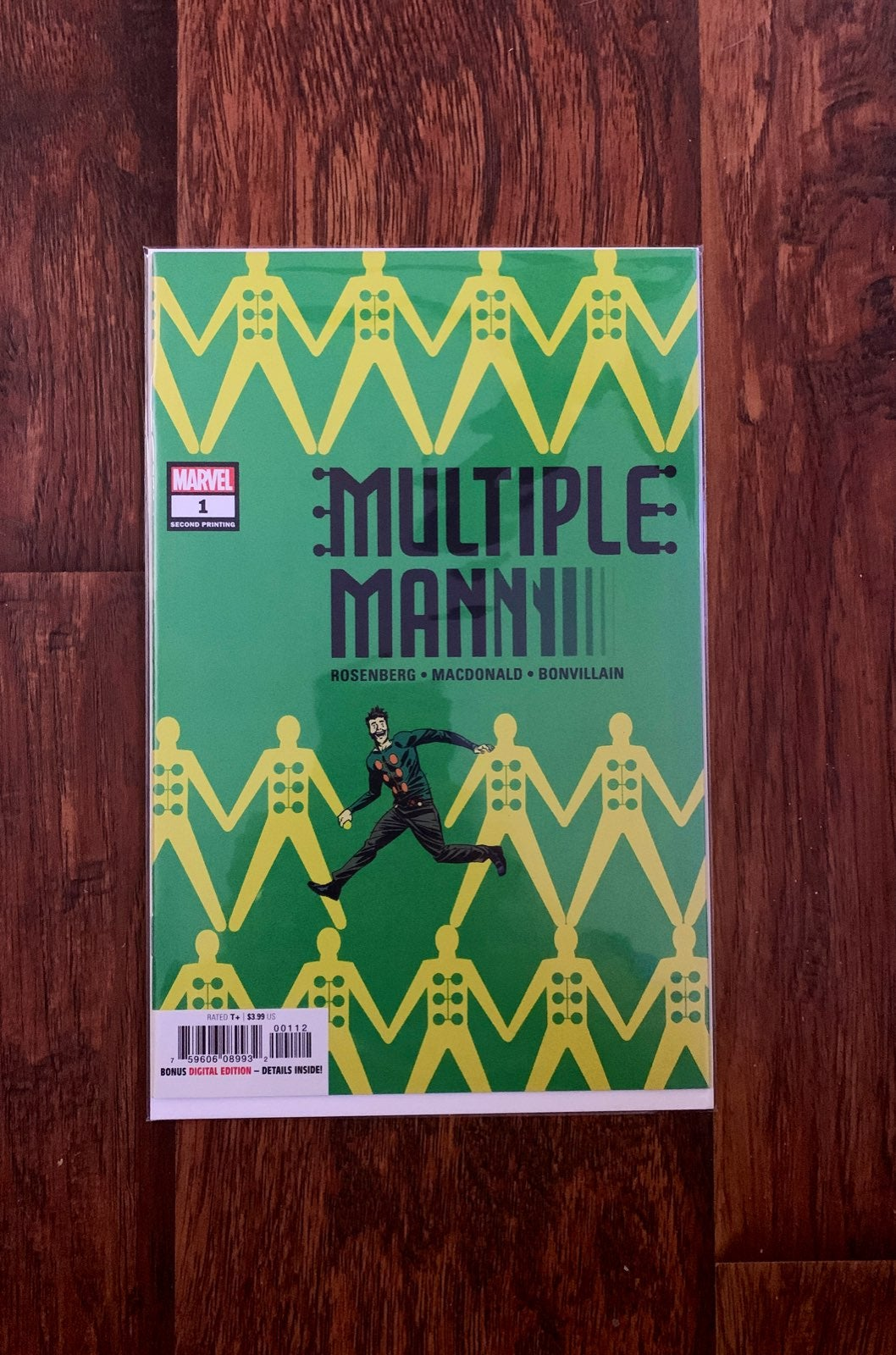 MULTIPLE MAN #1 MARVEL COMICS
