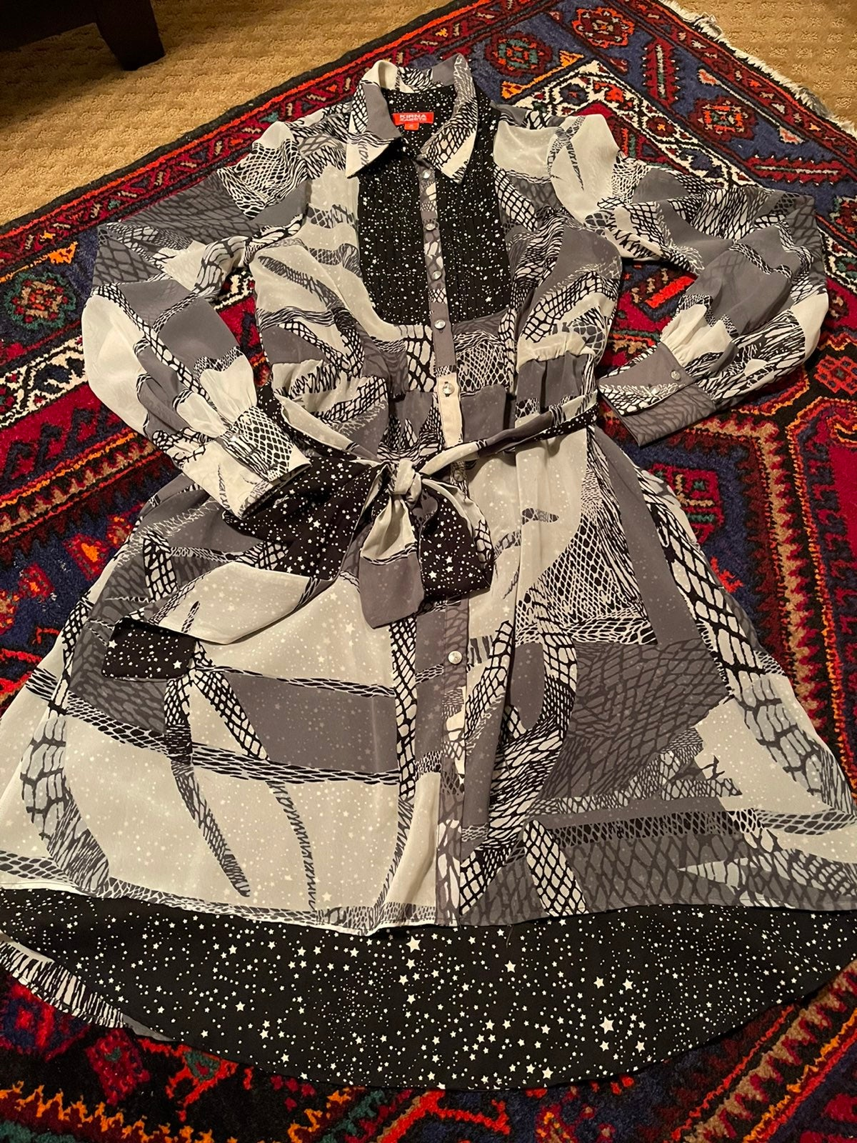 Kirna zabete long sleeve dress
