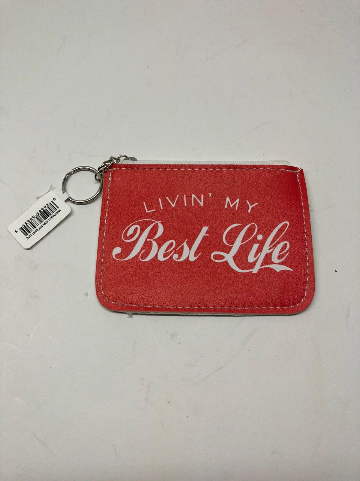 KALAN Livin My Best Life Coin Purse