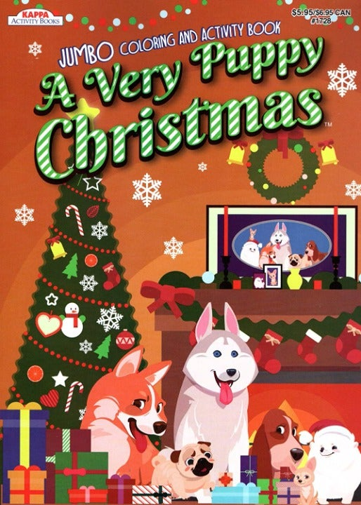 A Very Puppy Christmas - Coloring Book