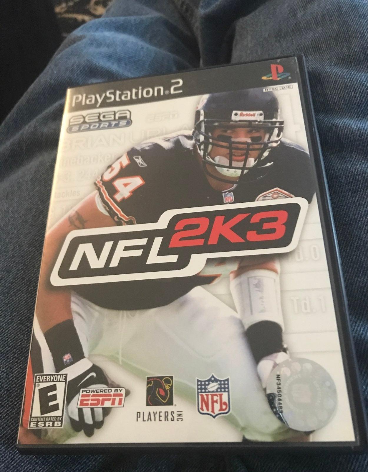Playstation 2 NFL2K3 NFL ESPN
