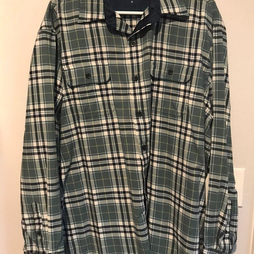 izod flannel shirts for men