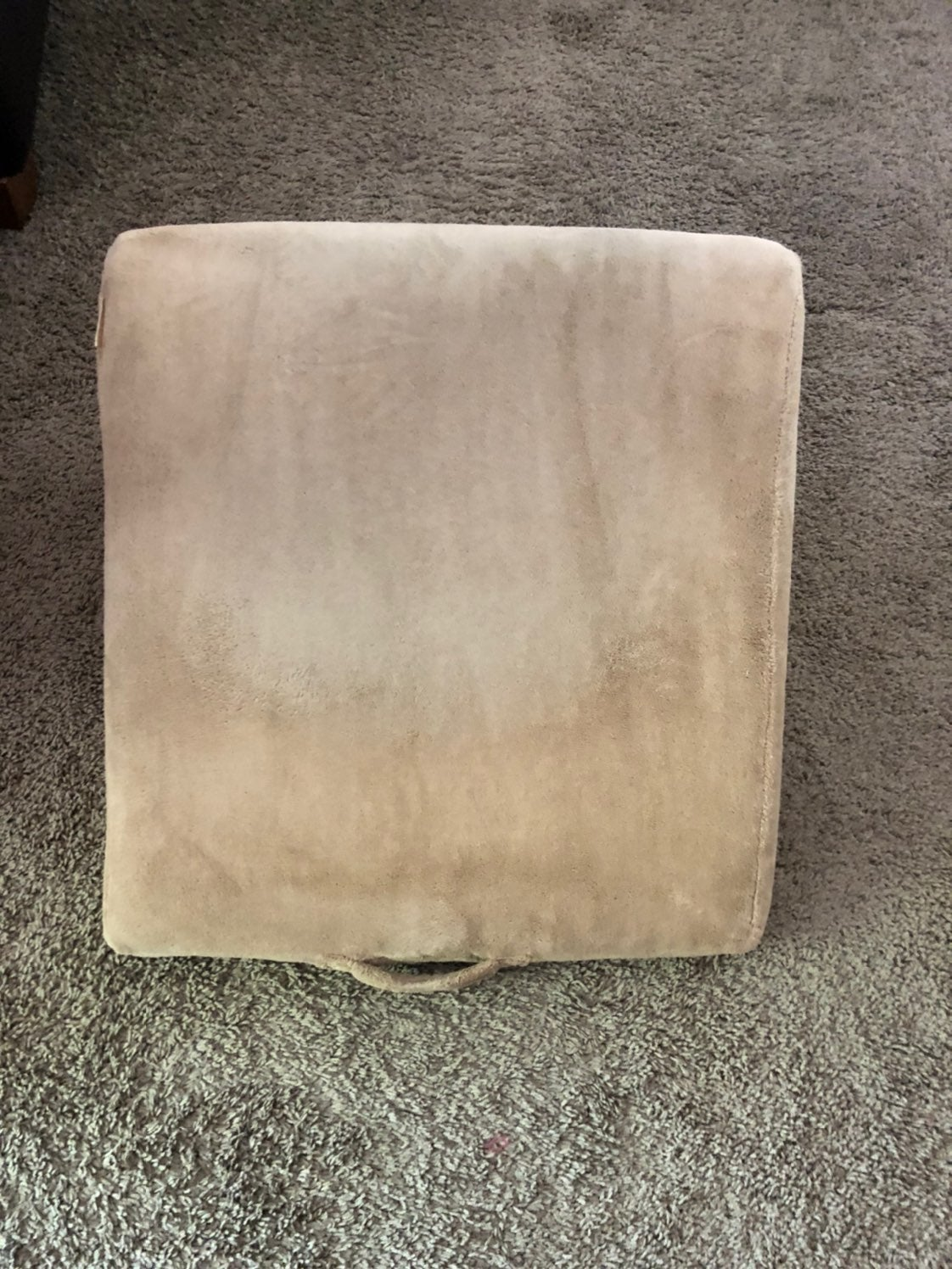 BrookStone Brown Wedge Pillow