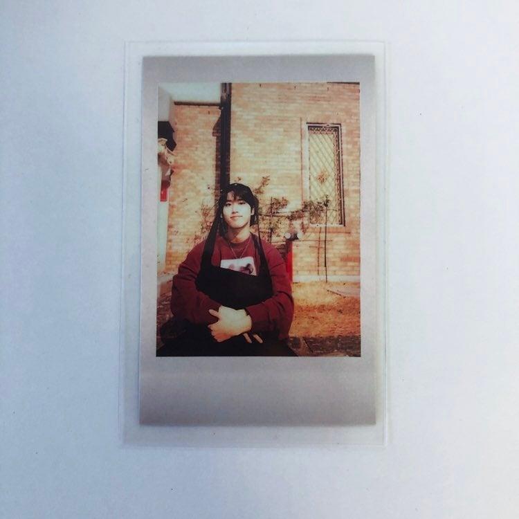 Jisung stray kids pola pc photocard