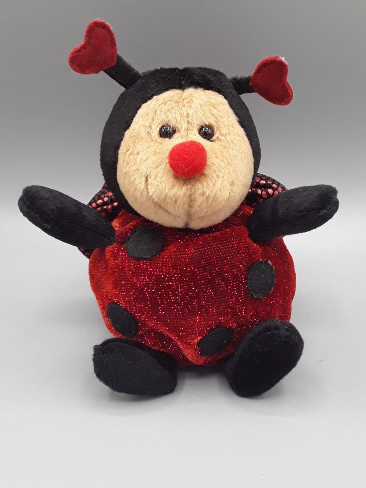 Russ Berrie Doodles Lady Bug Plush Teddy