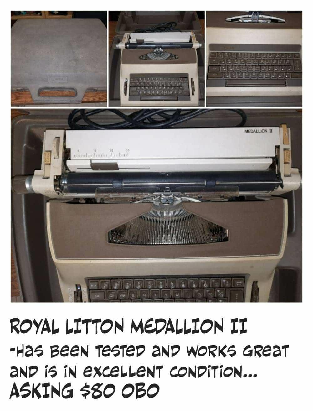 Royal Litton Medallion II