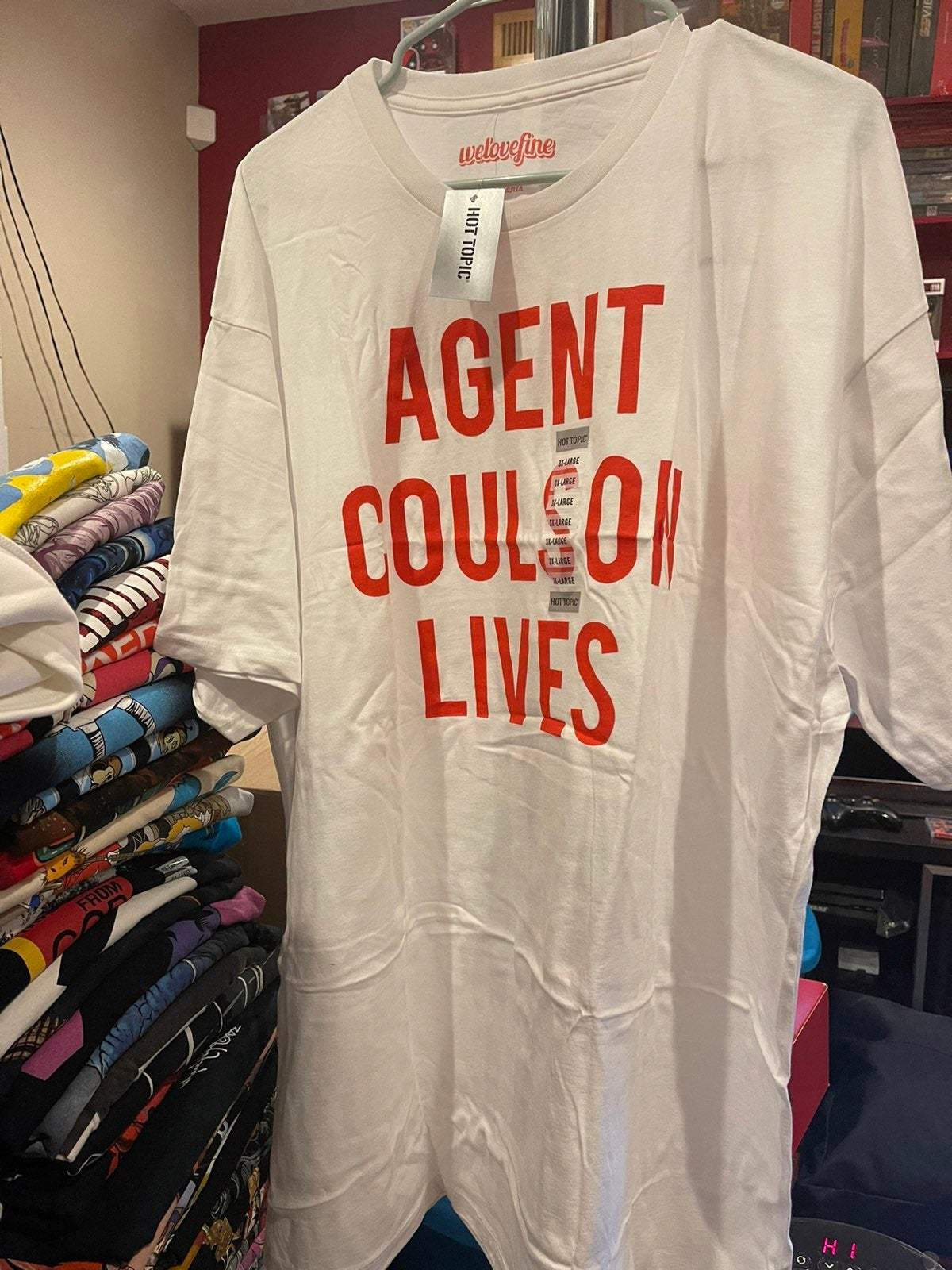 Marvel Agent Coulson T-shirt