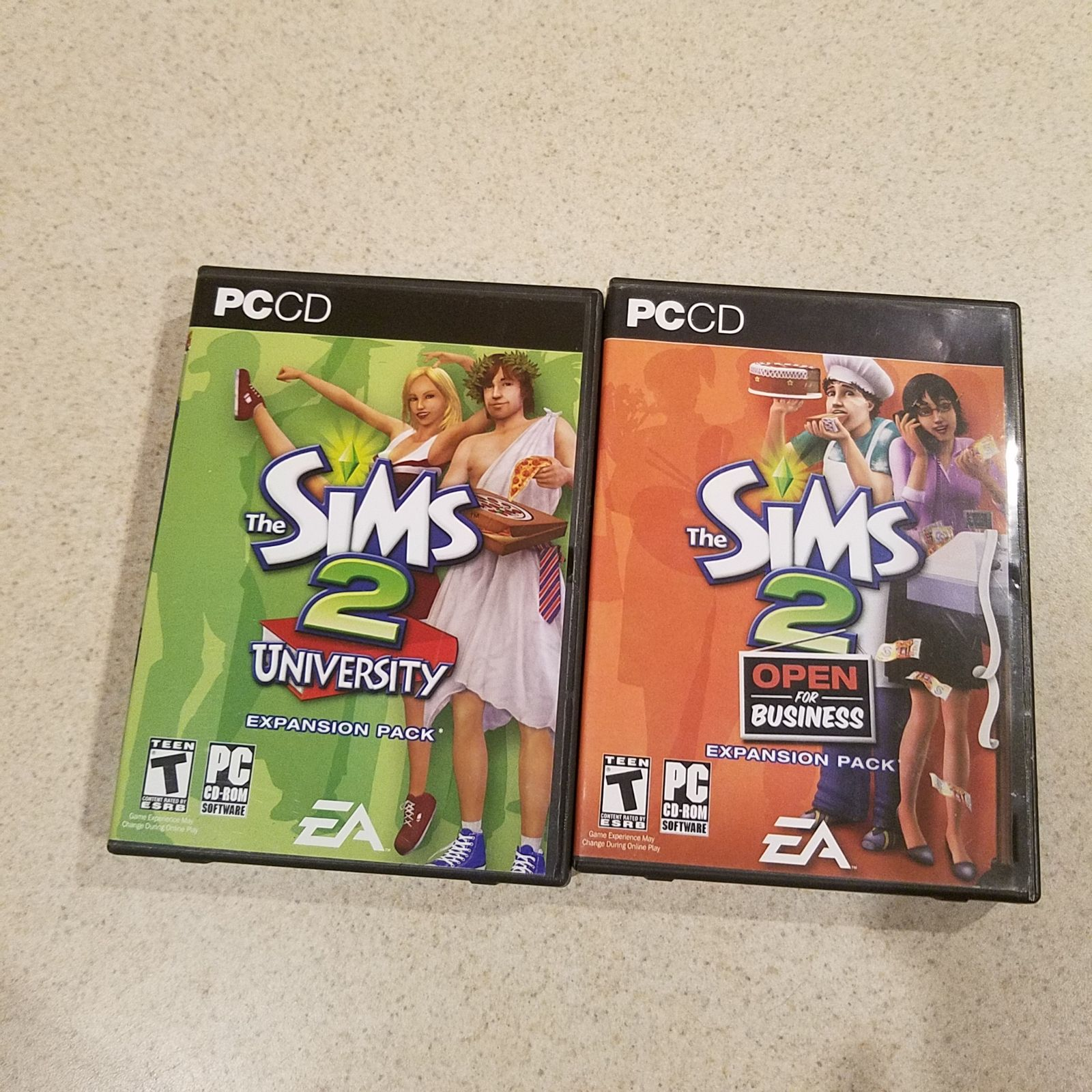 Sims 2 PC Game lot-9 games