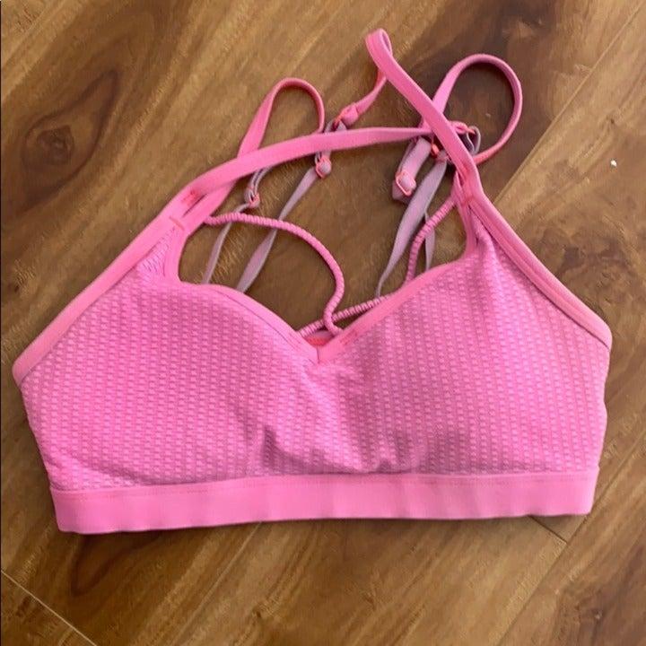 Lorna Jane pink bra