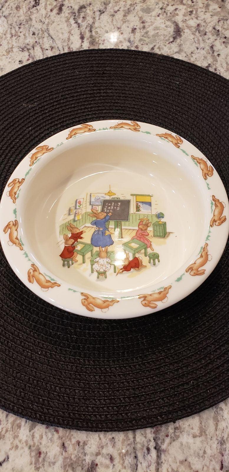 Royal Doulton 1936 Bunnykins cereal bowl