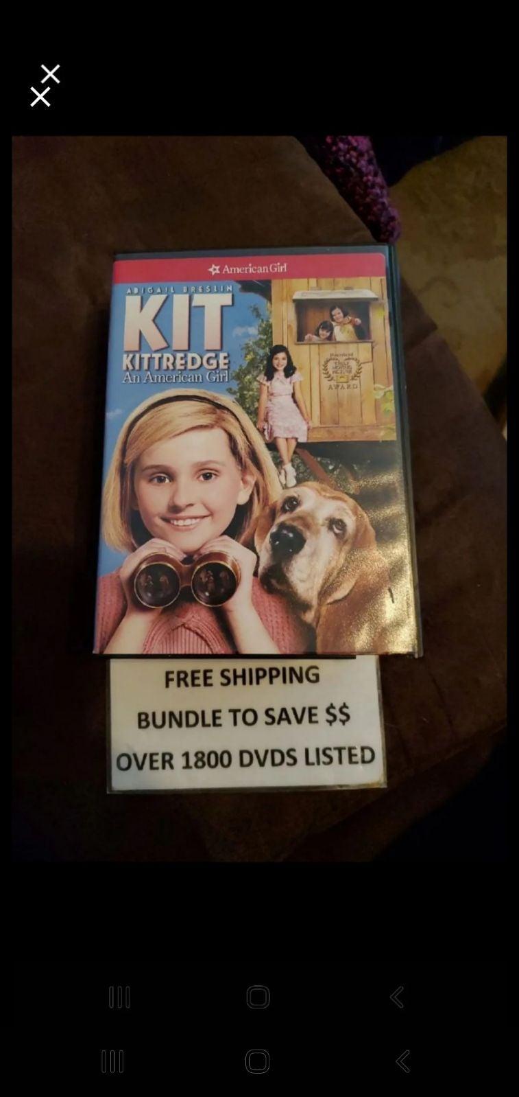 American Girl *DVD-KIT KITTREDGE AN AMERICAN GIRL* NEW~Factory Sealed~Fast Ship