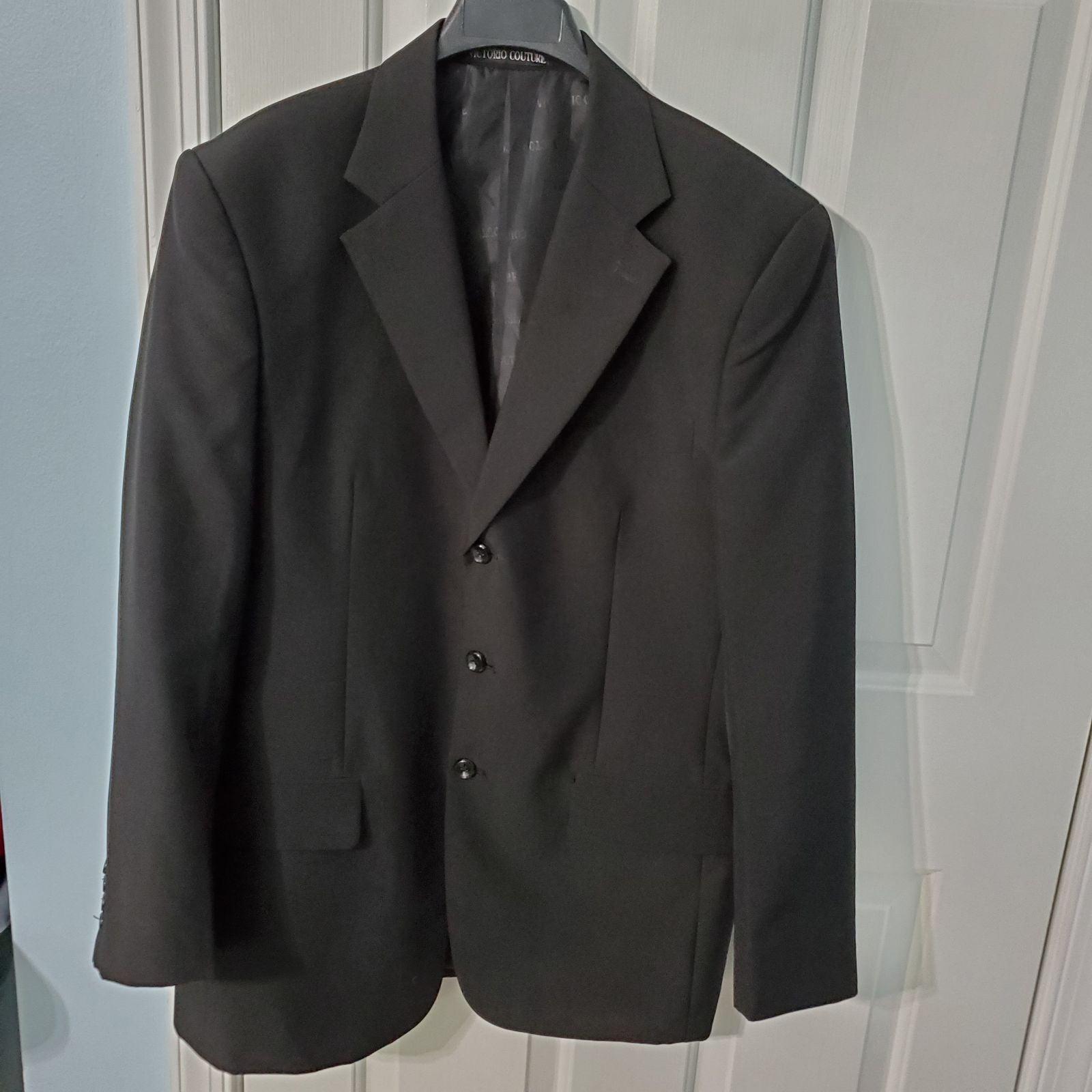 Victorio Couture Men 's Suit Jacket