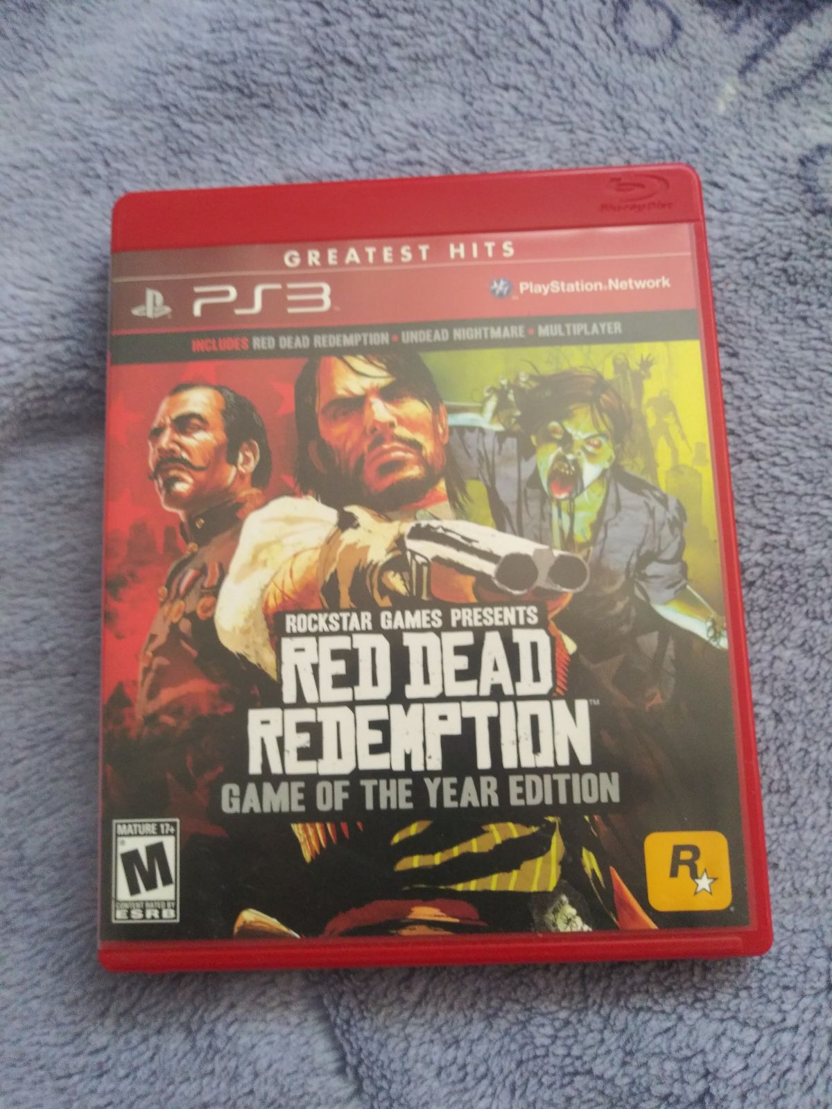 PS3 Red Dead Redemption Game of the Year