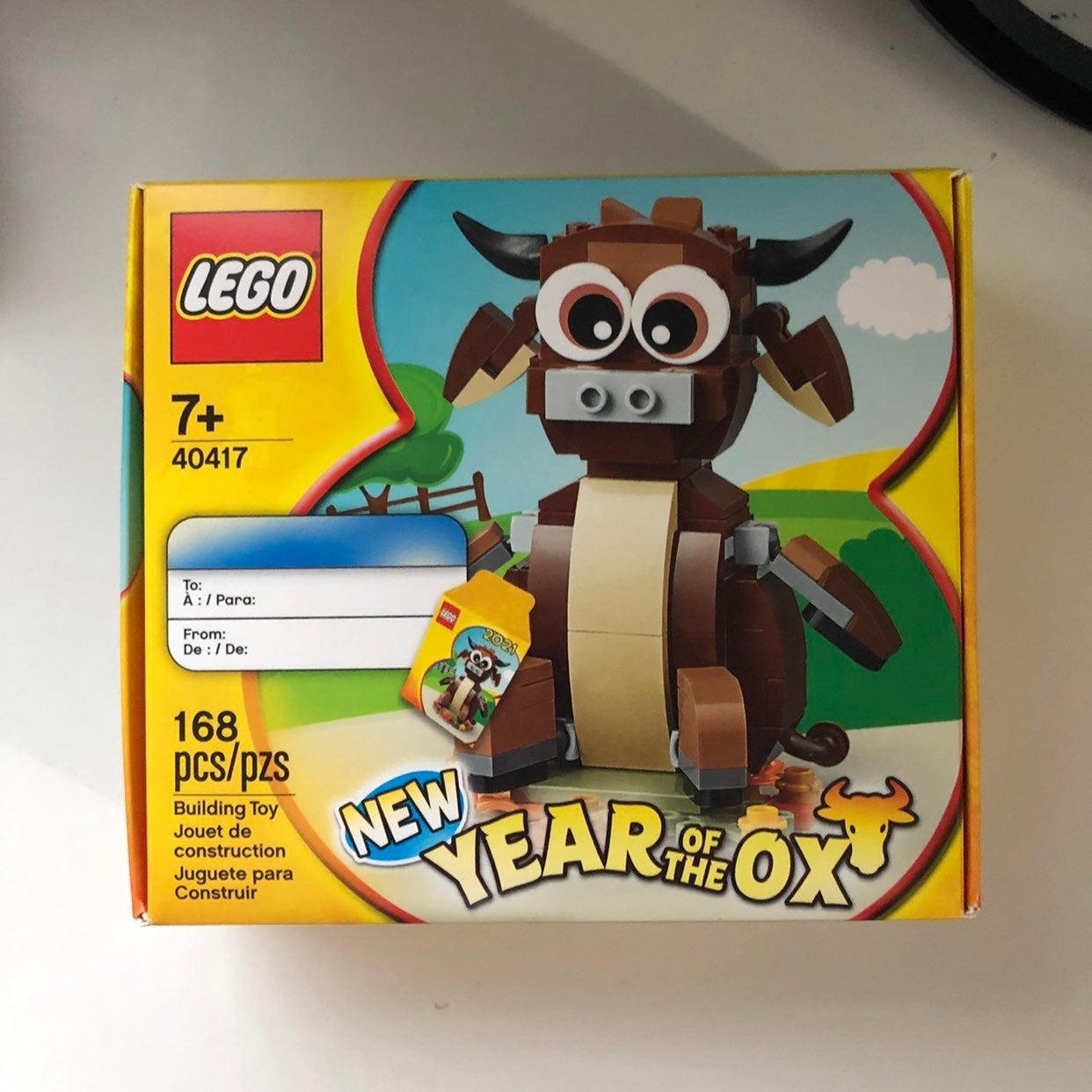 LEGO 40417 Year of the Ox 2021 CNY