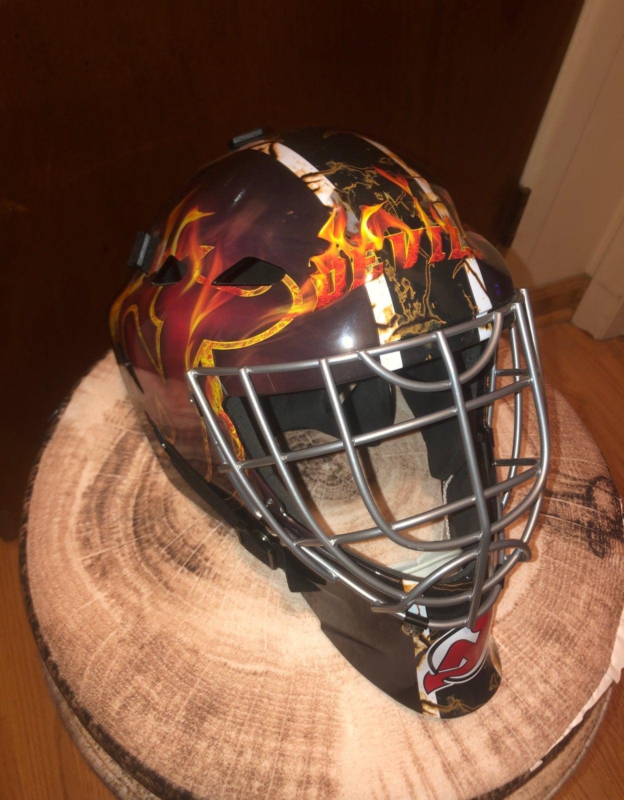 New Jersey Devils Goalie Helmet