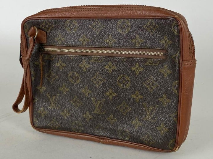 Louis Vuitton Monogram Wristlet Pouch