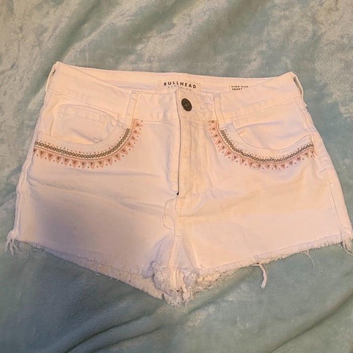 Pacsun Bullhead Aztec Embroidered Shorts