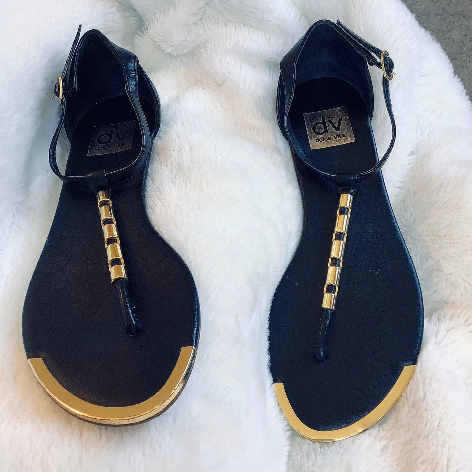 Flat Caspian Sandals by DV Dolce Vita