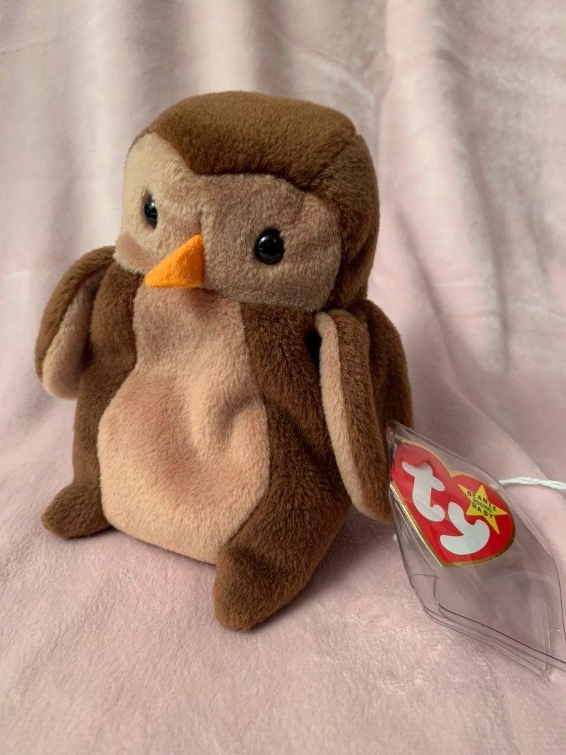 Beanie Baby Hoot w/ rare tag